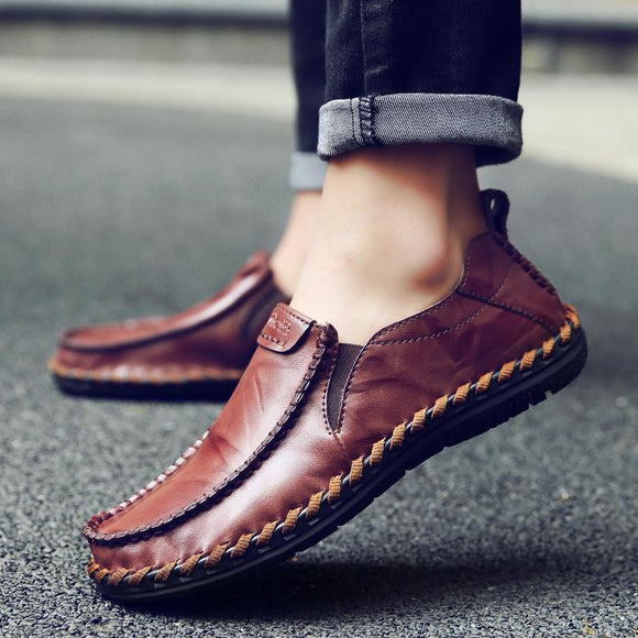 New Fashion Men's Cow Split Leather Shoes ( 💥Over $89+ ,Code SAVE10🛒)