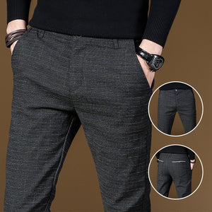 Fashion High Quality Men's Classic Business Casual Pants ( 💥Over $89+ ,Code SAVE10🛒)