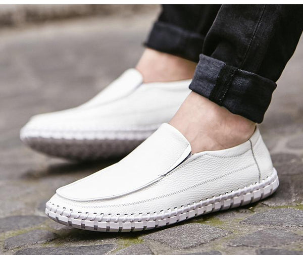 Shoes - 2018 Men's Casual Genuine Leather Moccasin Loafers