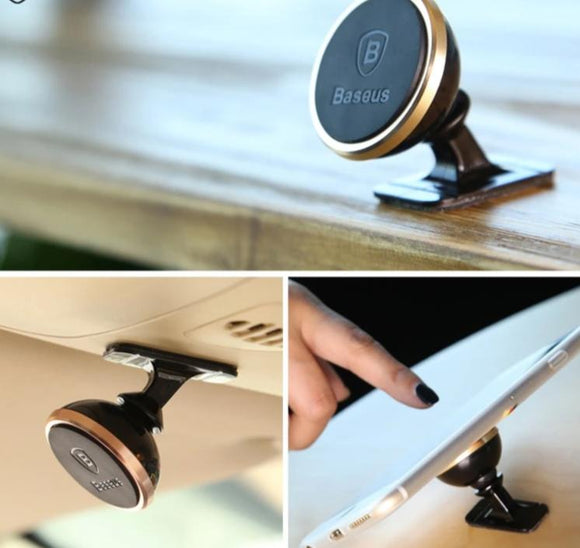 Magnetic Car Phone Holder Magnet Mount Car Holder For iPhone & Samsung