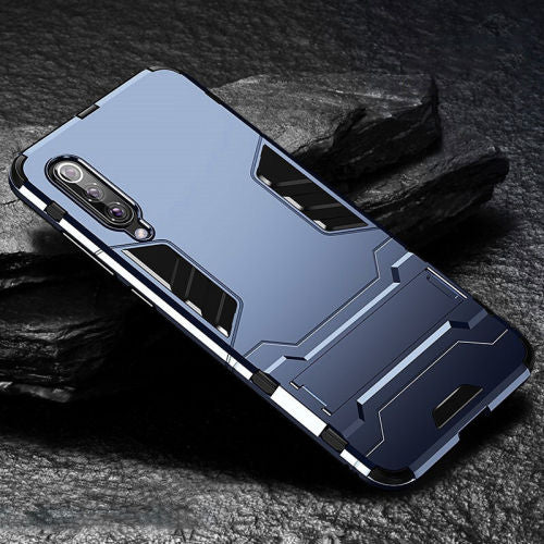 Shockproof Armor TPU + PC Kickstand Case For Samsung S7 Edge S8 S9 S10 Plus S10 Lite Note 8 9