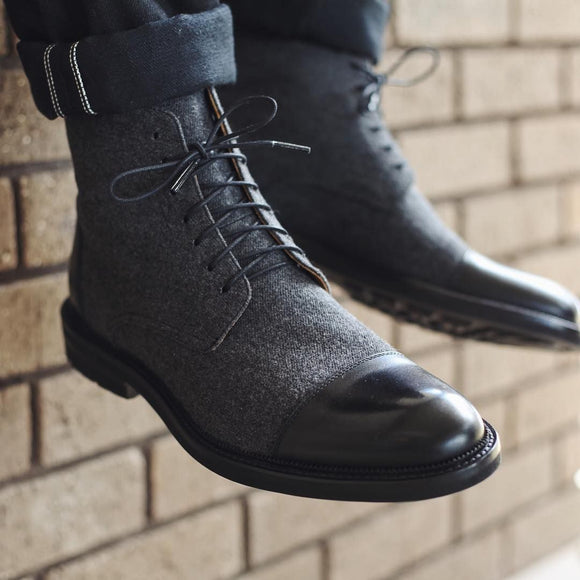 Men Business Ankle Boots ( 💥Over $89+ ,Code SAVE10🛒)