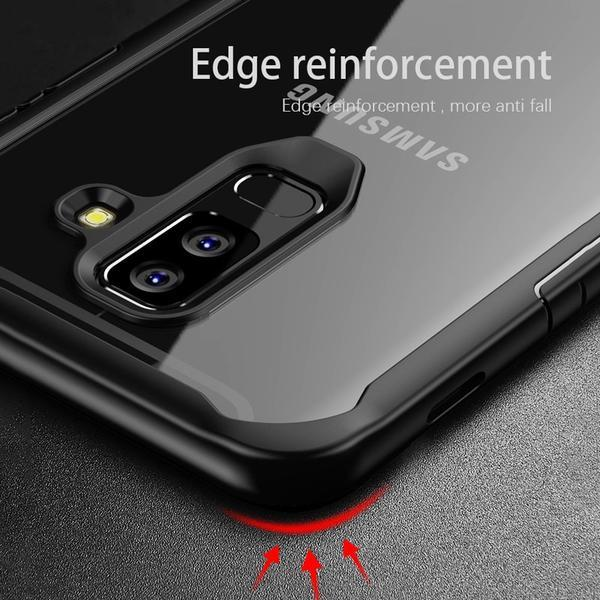 Luxury Heavy Duty Anti-knock Shockproof Transparent Silicon Case For Samsung S10 plus S10 lite S10 Note 9 8 S9 S8 Plus