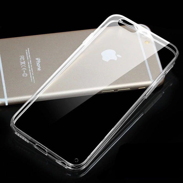 Clear Soft TPU Transparent Cases For iPhone 6 6s 7 8 Plus X XS Max XR