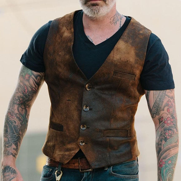Men's Colorblock Suit Victorian Steampunk Vest ( 💥Over $89+ ,Code SAVE10🛒)