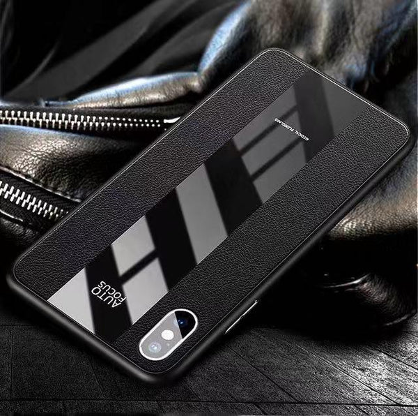 Luxury Shockproof Ultra Thin Silicone + Acrylic Shockproof Armor Case For iPhone X XS Max XR 8 7plus