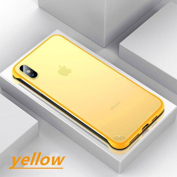 Luxury Shockproof Ultra Thin Case For iPhone X XS Max XR 8 7plus