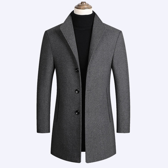 2021 Fashion Plus Size Men's Jacket Trench Coat ( 💥Over $89+ ,Code SAVE10🛒)