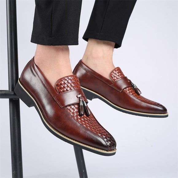 Golden Sapling Leisure Formal Men  Loafers Shoes( 💥Over $89+ ,Code SAVE10🛒)