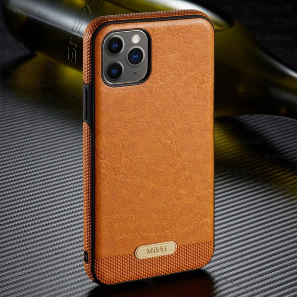 iPhone Case - Luxury PU Leather Back Ultra Thin Case Cover For iPhone 11 11pro 11 pro max MAX X XR XS 8 7 6plus