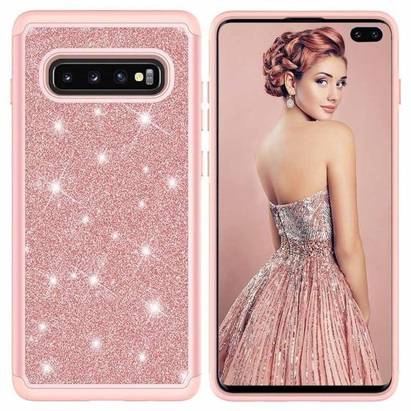 Phone Case - Bling Glitter Phone Case for Samsung Galaxy S10 S9 S8 Plus