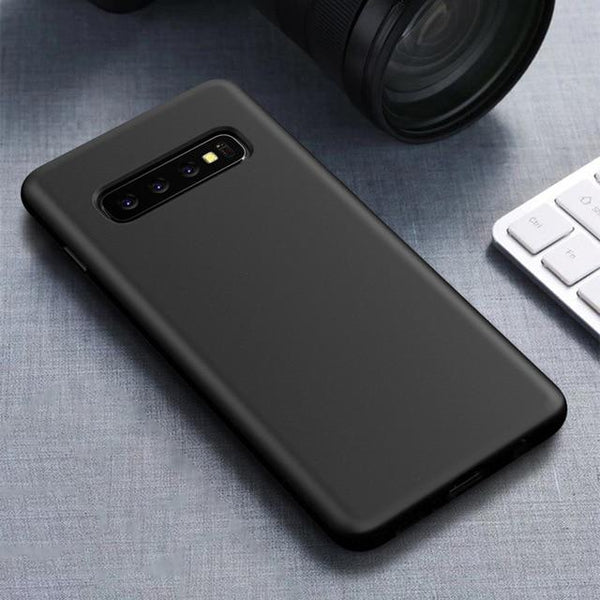 Luxury Eco-friendly Silicone Shockproof Case For Galaxy s10 S10 Plus S10e