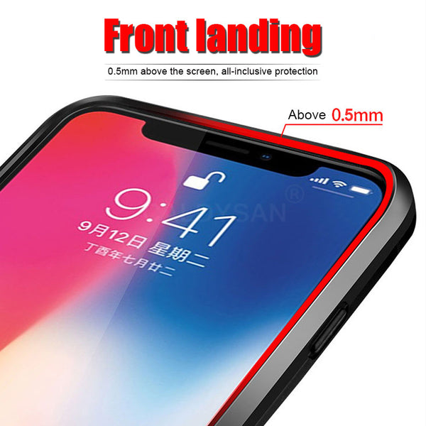 Luxury Armor Anti-knock Full Cover Metal Ring Bracket Case For iphone 6 6S 7 8 Plus X XR XS Max(Buy 2 Get 5% OFF, 3 Get 10% OFF)