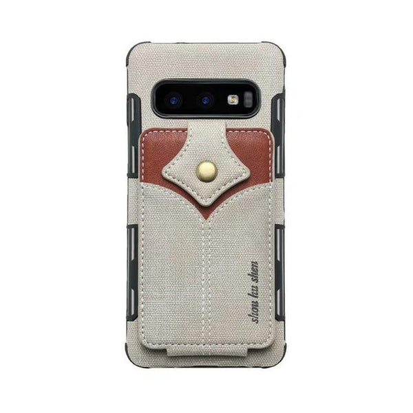 Military Card Slots Shockproof Ultra Thin Anti-knock Cases For Samsung S10e S10 Plus Note 9 8 S9 S8 Plus S7 Edge