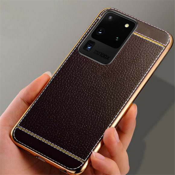 Leather Texture Ultra Case for Samsung S20 S20 Plus Note 10 Plus