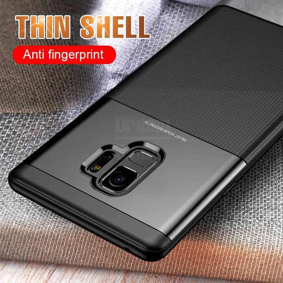 Luxury Soft TPU Bumper Case For Samsung S9 S9 Plus Note 9