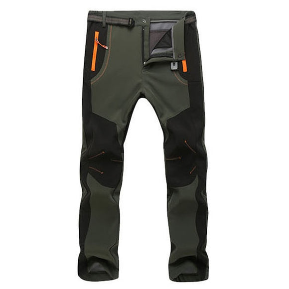 Men Outdoor Warm Waterproof Breathable Soft Shell Pants  ( 💥Over $89+ ,Code SAVE10🛒)