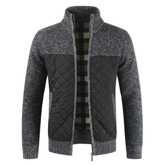 2021 Men's Warm Knitted Sweater Jackets Cardigan Coats  ( 💥Over $89+ ,Code SAVE10🛒)