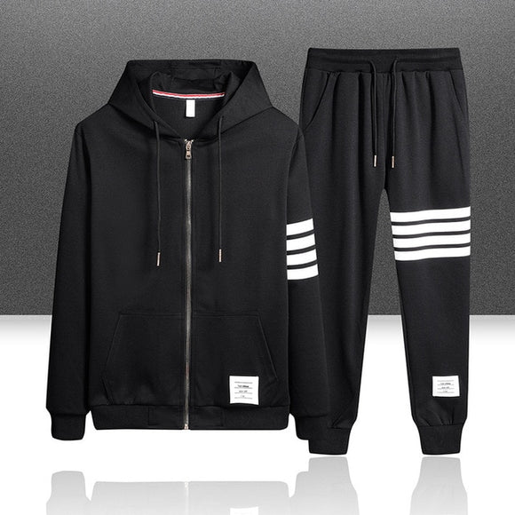 New Men Sets Clothing Cardigan Hoodies Sportswear Tracksuits( 💥Over $89+ ,Code SAVE10🛒)