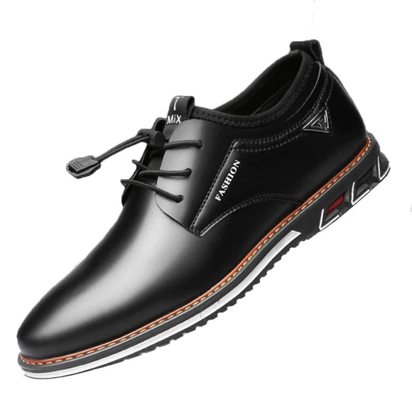 Men Oxford Leather Lace Up Loafers( 💥Over $89+ ,Code SAVE10🛒)