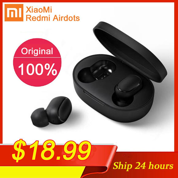 Original TWS Bluetooth Earphone Stereo bass BT 5.0 Eeadphones With Mic Handsfree Earbuds AI Control