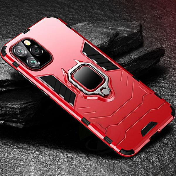 Luxury Armor Shockproof Ring Bracket Case For iPhone 11 11Pro 11Pro MAX XS MAX X XR 8 7 6S 6Plus-new