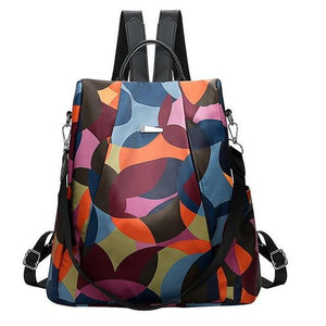 Women Multifuction Backbag Anti Theft Backpack