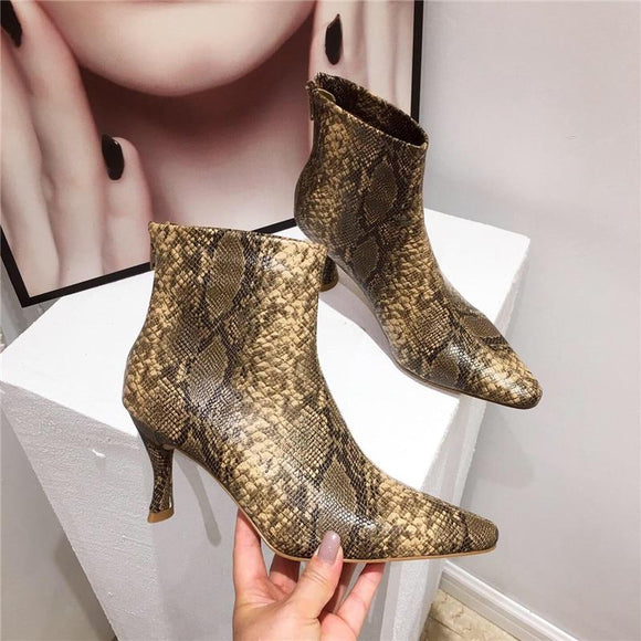 Sexy Women Ankle Boots