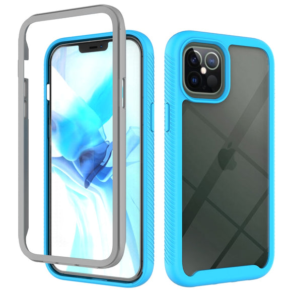 Shockproof Hybrid Armor TPU Bumper Clear Case For iPhone 12