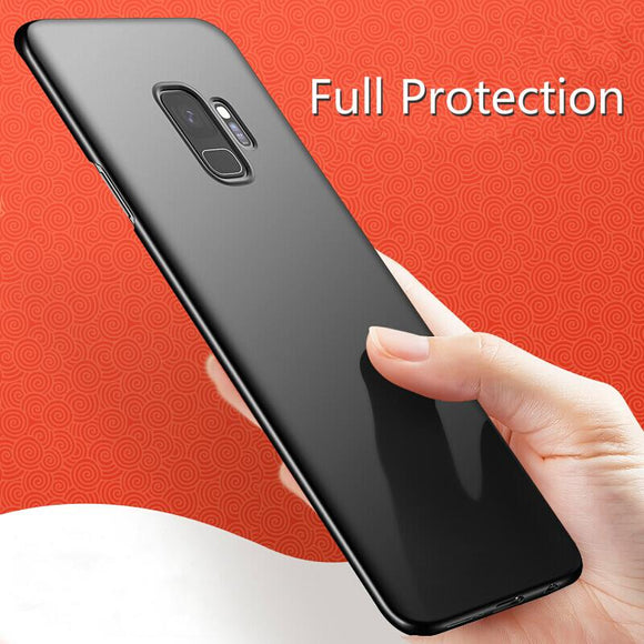 Full Ultra Thin Anti-fingerprint Shockproof Business Protect Case For Samsung S10 S10 Pus S10E note 9 note 8 S8 S8 Plus S9 S9 Plus