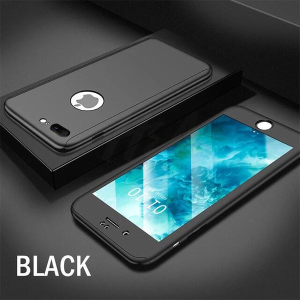 360 Full Cover Protective Shockproof Case For iPhone 11 11Pro 11Pro MAX XS MAX X XR 8 7 6S 6Plus
