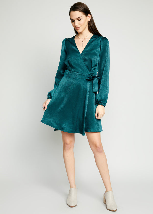 Peninsula Wrap Dress