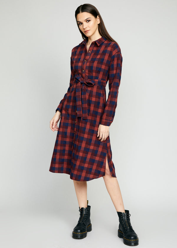 Ana Long Shirt Dress