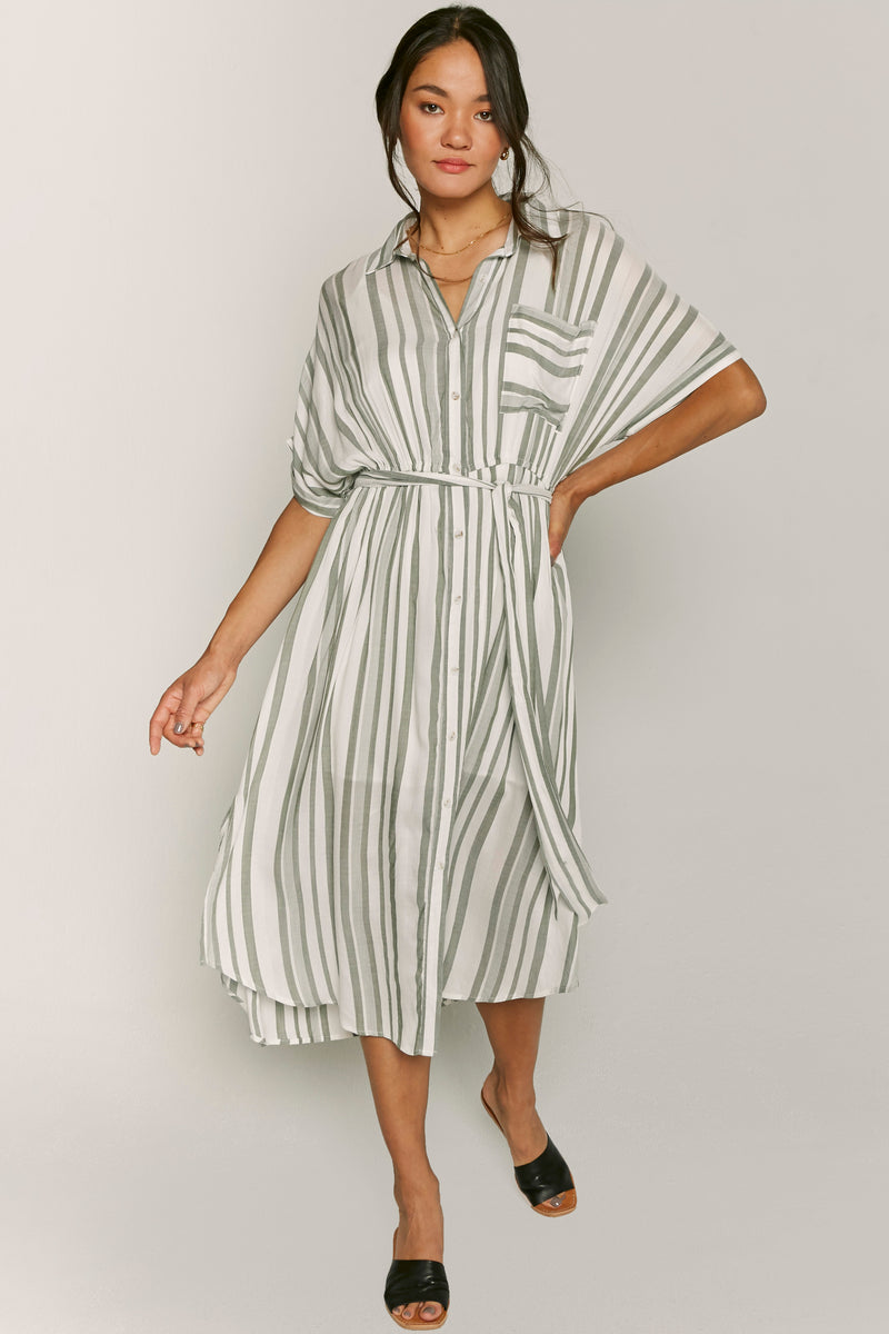 Stephanie Shirt Dress