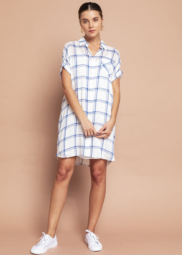 Michelle Shirt Dress