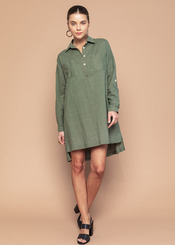 Julie Shirt Dress