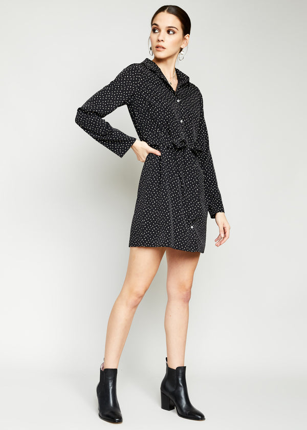 Domino Shirt Dress