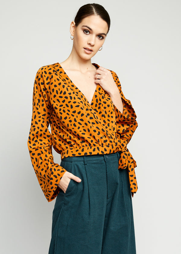 Samantha Wrap Top
