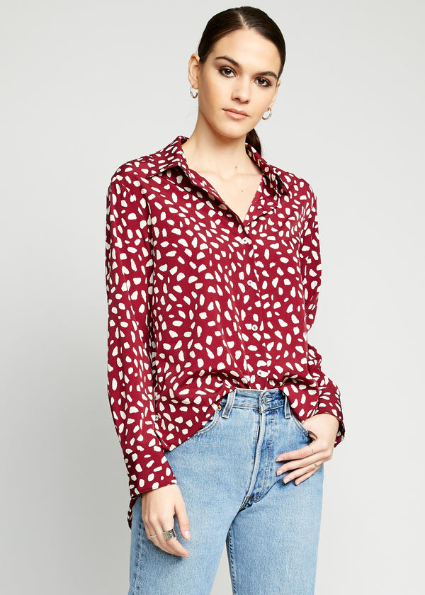 Sienna Button Up Top
