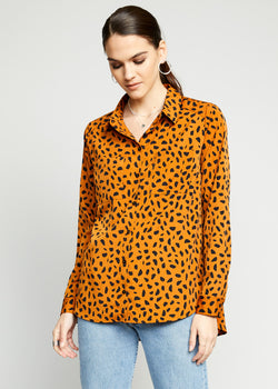 Samantha Button Up Top