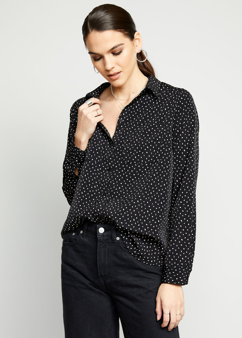 Domino Button Up