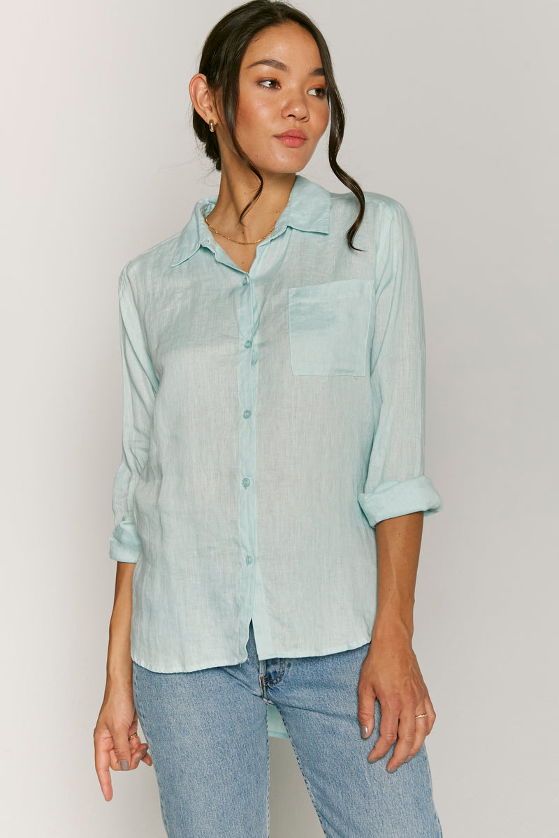 Joann One Front Pocket Top