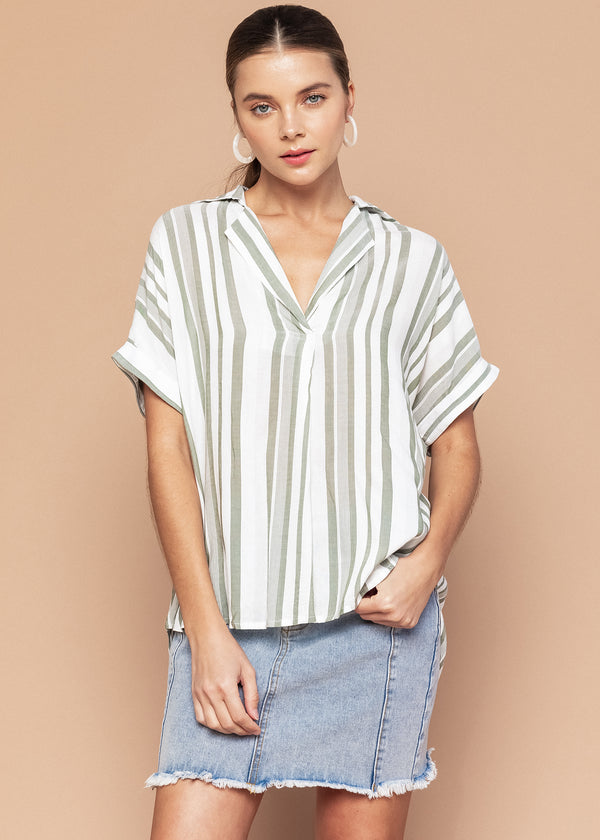 Stephanie Short Sleeve Top