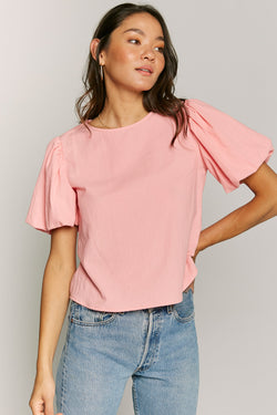 Bubble Gum Emma Top