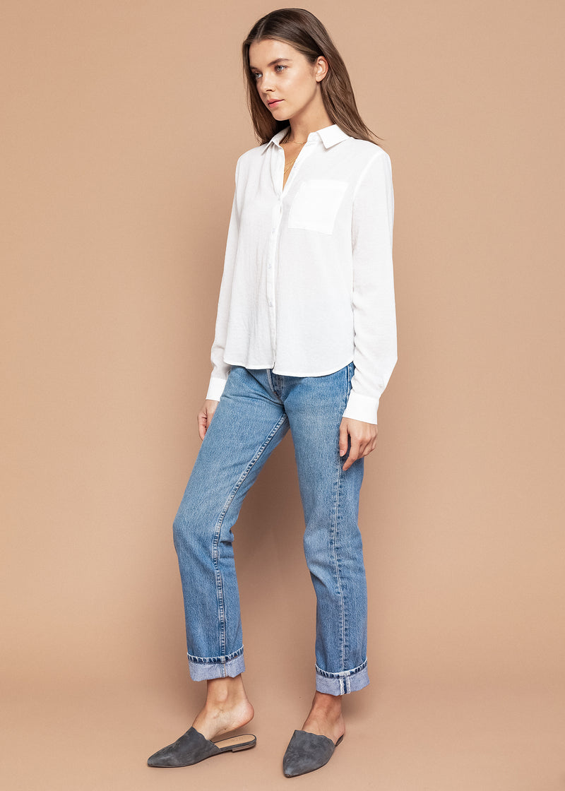 Tina Button Down Top