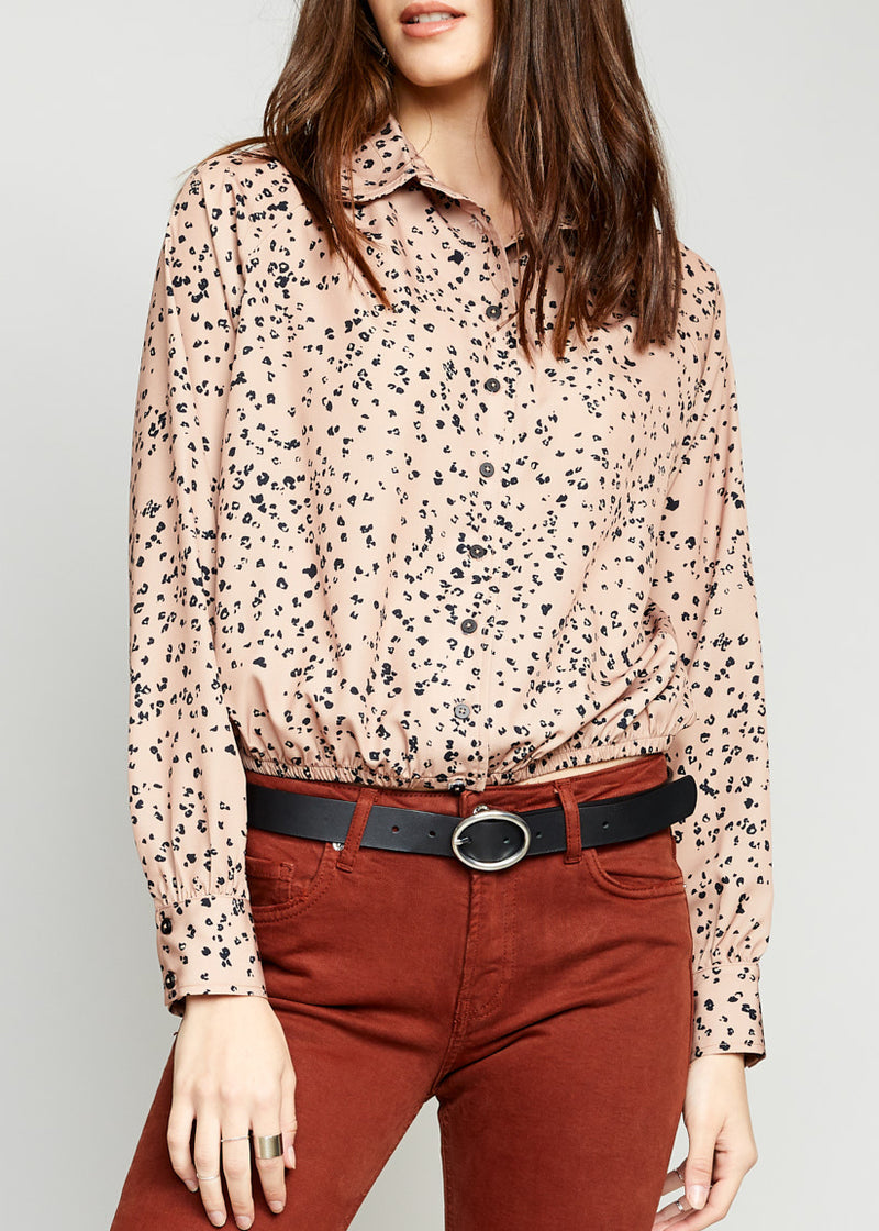 Muse Button Up Top