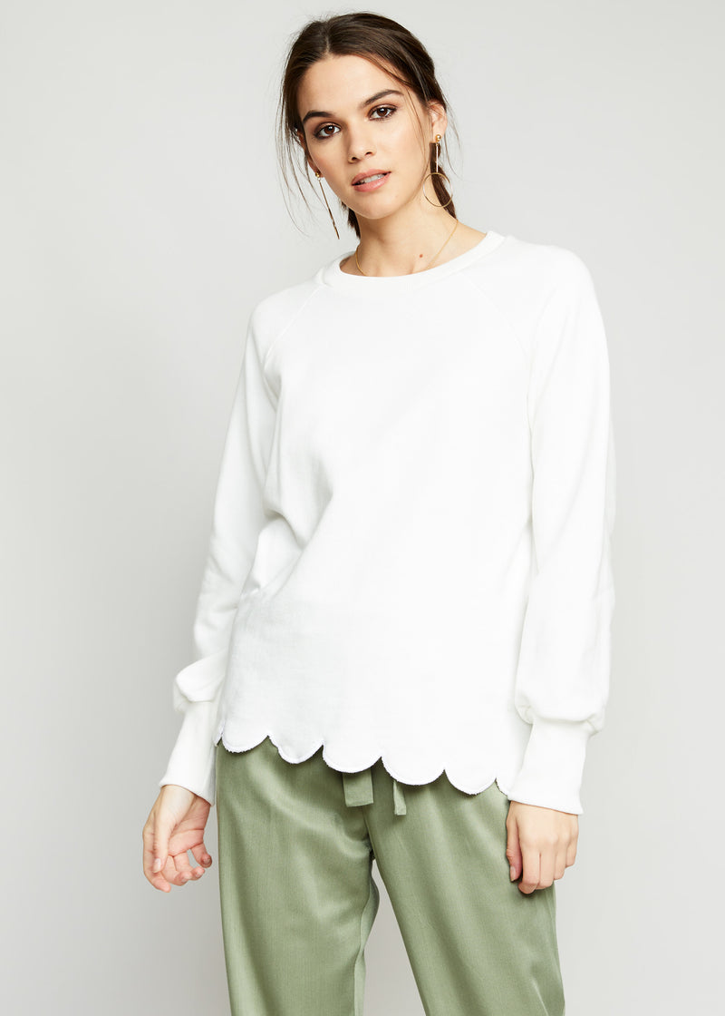 Hailey Scallop Top