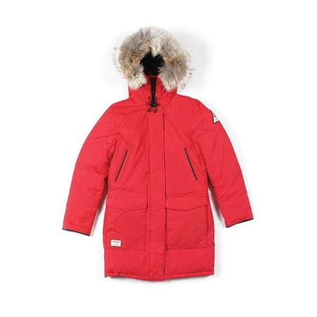 key features Woods Arctic Parka Womens - Red
