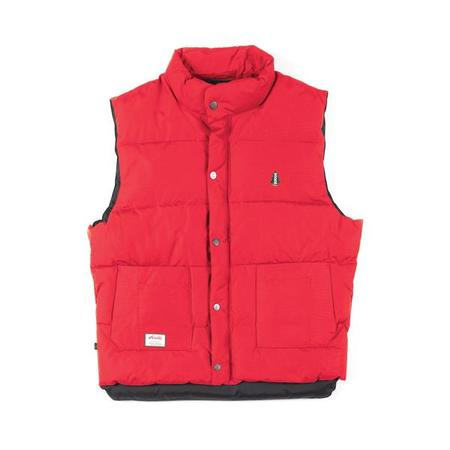 key features Woods Freestyle Vest - Red