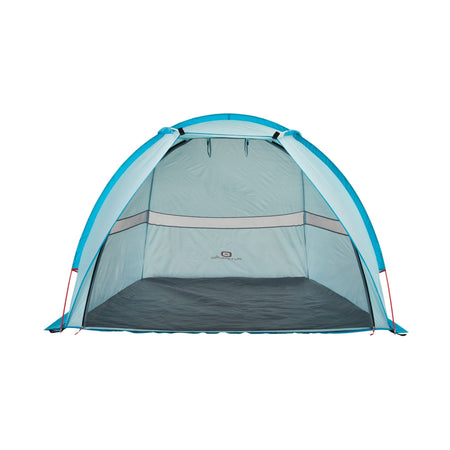key features Outbound Oasis 2-Person Beach Tent & Sun Shade Shelter with Carrying Case - Blue